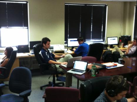 Voices Interns at work