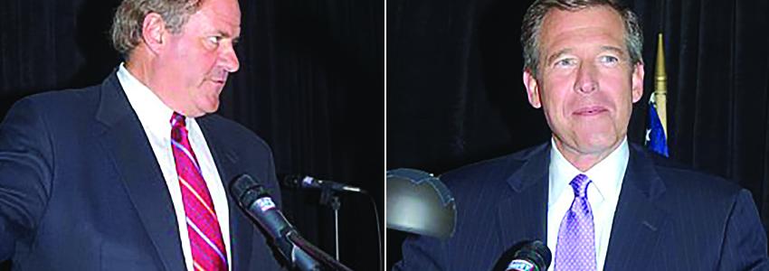 Chris Berman, Brian Williams