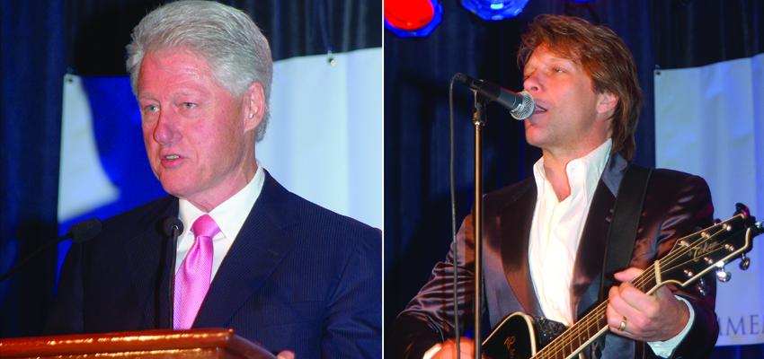 Bon Jovi, Bill Clinton