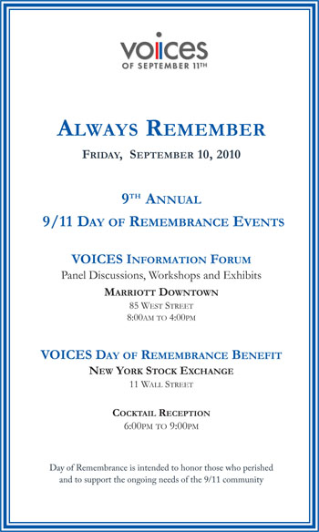 Day of Remembrance Save the Date: Click for PDF