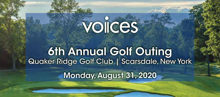 6th Annual Golf Outing | Quaker Ridge Golf Club | Scarsdale, New York | Monday, June 15, 2020