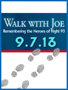 """Walk With Joe"" 5K Walk on September 7th"