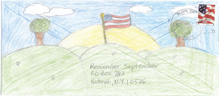 Remember September Mail Art